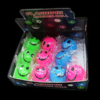 FLASHING BALLS-12PCS/DBOX-SMILEY FACE