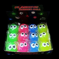 FLASHING BALLS-12PCS/DBOX-BUG EYED