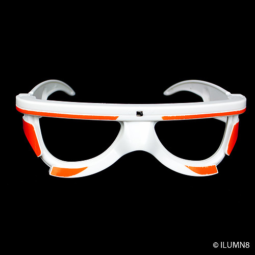 FLASH SUNGLASSES-1PC/PBAG-SOUND-ACTIVATED-STORM-TROOPERS