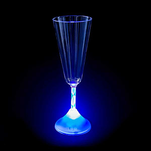 1 X Light Up Champagne Cup