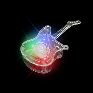 24 x Flashing XL Guitar Flashes Red/Green/Blue - 3 Modes