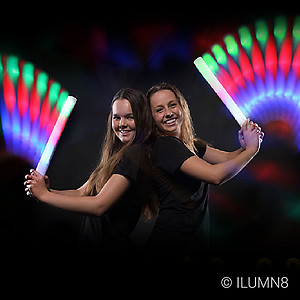 Jumbo LED Thunder Stick  - 6 Colour Modes