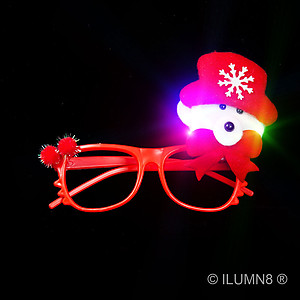 1 x Xmas Glasses - Xmas Bear