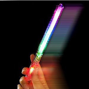 120 x Flashing 'Streetlights' Concert Waving Wands 21cm