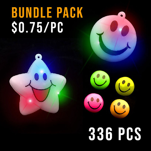 BUNDLE-SMILEY PARTY PACK LARGE-336PC