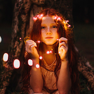 4m Copper Wire Fairy Lights - Red (40 LED's)