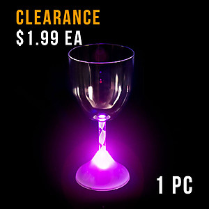 Light Up Wine Cup (1pc) - SECONDS
