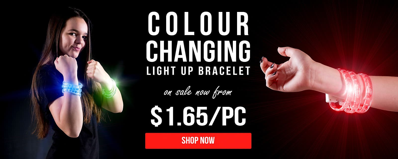 Colour Changing Light Up Bracelet On Sale Feb 2020
