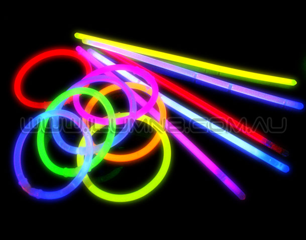 GLOW BRACELETS-8INCH-1000PCS/PACK-MIXED