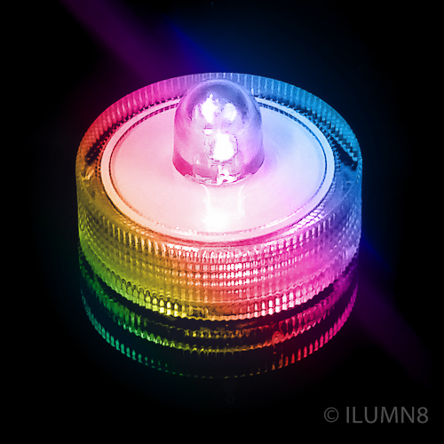 LED SUBMERSIBLE LIGHT-COLOUR CHANGING-1PC