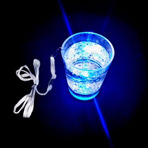 FLASHING BARWARE-LIQUID ACTIVATED SHOTGLASS-1PC