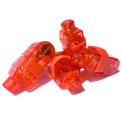 FINGER LIGHTS RED-50PC PACK
