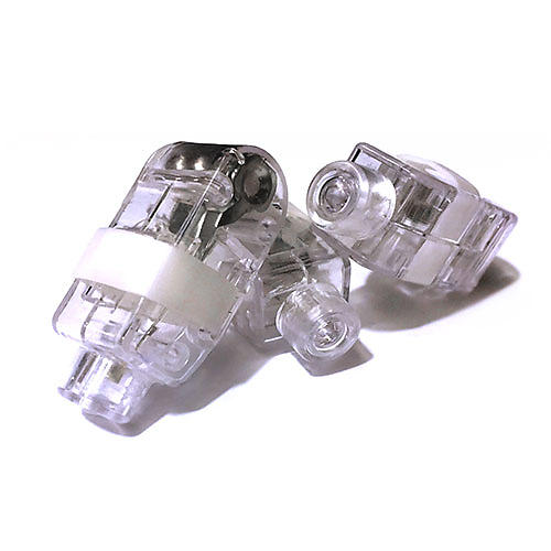 FINGER LIGHTS WHITE-50PC PACK
